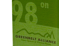 Greenbelt Alliance Campaign Brochure