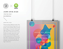 JUMP. SPIN. HIGH. - Spotify ArtWork