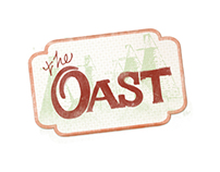 The Oast Community Brewery Logo and Website