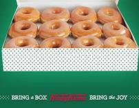 Krispy Kreme - Bring A Box Bring The Joy