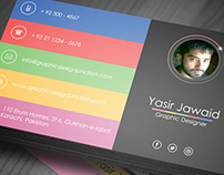 Modern Business Card Mockup PSD (Freebie)