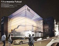 monia Concert Hall in Warsaw -student project