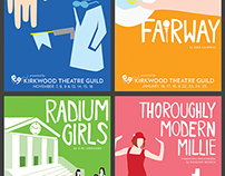 Kirkwood Theatre Guild Promotional Items