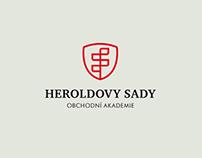 Logo prestižní obchodní akademie vredesignu Insidea