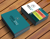 Color full business card
