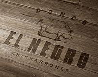 """Logo """"Donde EL NEGRO"""""""