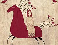 Mezen horse