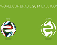 FREE | WorldCup Brasil 2014 Ball Icon