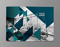 Modern Red Blue Brochure