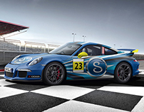 Swagelok Porsche Wrap Design