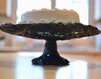 Carbon Fiber Cake Pedestal
