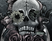 skulls and guns