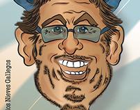 Caricatura - historieta - digital - ilustración