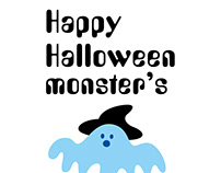 Happy Halloween Monster's