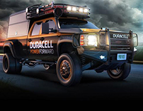 Duracell Distaster Vehicle