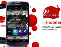 Go Indonesia app, Powered by Samsung