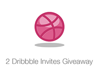 2 Dribbble Invites give away.