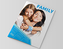 Family Magazine Template