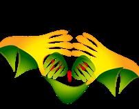 BRASIL world cup logo redesigning