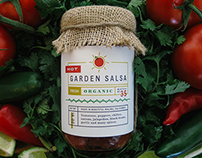 Yellow Hill Organic Garden Salsa
