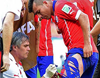 Chile WC Brasil 2014 Highlights.