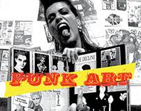Design Thesis Project: Punk Art