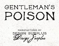 Gentleman's Poison Font