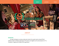 Syracuse University App Challenge Website