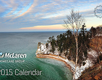 Wall Calendar - McLaren Homecare