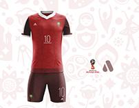 Morocco Football Kit 2018