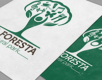 La Foresta natural park brand identity