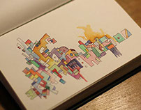 ABSTRACTION waterCOlor BooK