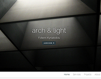Arch & Light Website