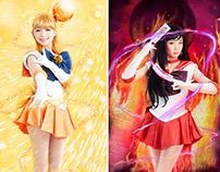 Sailor Venus & Sailor Mars