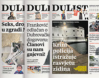 DuList newspaper redesign