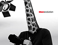 MANevolution - Print AD for Manfrotto Tripods