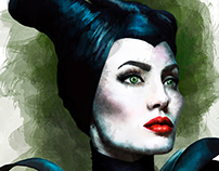Maleficient illustrator
