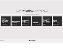 Sony Virtual Experience /  Facebook Activation