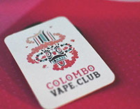 Brand Identity Design - Colombo Vape Club