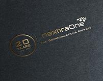 Logo for 20th anniversary of NextiraOne Poland