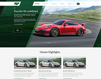 RUF Website Redesign Concept