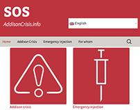 SOS addison responsive web-app