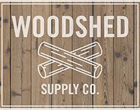 Woodshed Supply Co. Logo