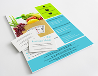 Nutritionist & Diet Consultant - Stationery & Website
