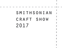 Smithsonian Craft Show Booth 2017
