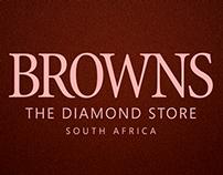 Browns Jewellers Advert Series