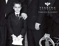 Tsarina Diamond Print Campaign