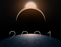 """2001"" Poster"