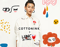 Liunic on Things x Cottonink