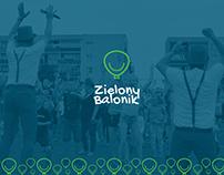 Green Balloon || brand identity